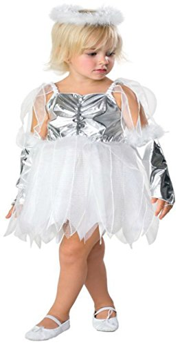 Girls Angel Kids Child Fancy Dress Party Halloween Costume