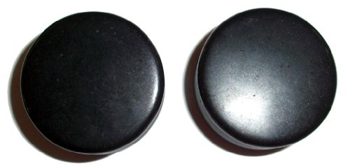 Genuine Onyx Plugs - Organic - 1 inch - Pair