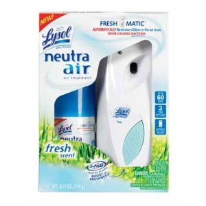 Lysol Neutra Air Freshmatic Automatic Spray Kit, Fresh Scent