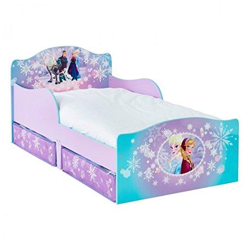 Disney Frozen 140×70 cm Eiskönigin Prinzessin Kinderbett Bett Kinderzimmer Möbel Schlafen Mädchen
