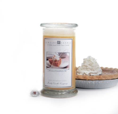 Vanilla Pumpkin Pie Jewelry Candles By Jewelry Candle Company
