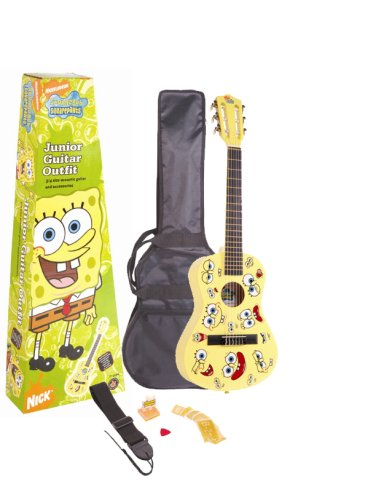Spongebob SBJGOFT Junior Guitar Outfit