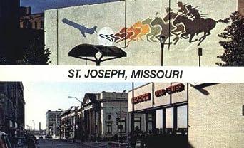 St Joseph Missouri Postcard At Amazon 39 S Entertainment