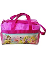 "Gift Special - Disney Princess Summer Travel Kids Travel Duffle Bag , Size Approximately 17"" X 10"" Christmas Gift pRINCESS"" 600d Polyester Duffle Bag with Printed PVC"