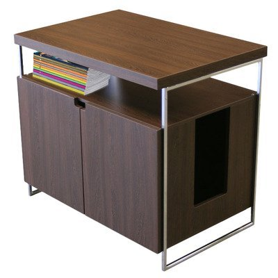 Modern Cat Designs TT-MCD-LH04-B Litter Box Hider, Brown