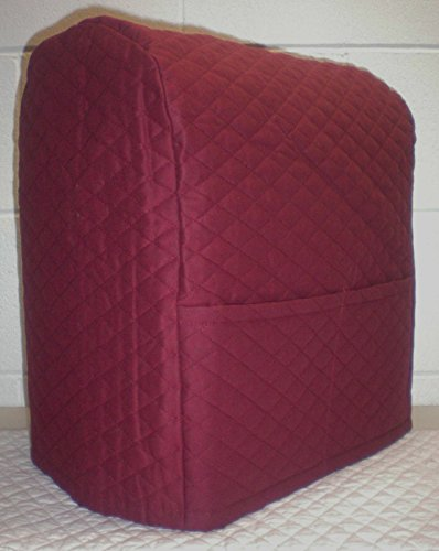 Quilted Kitchenaid Lift Bowl Stand Mixer Cover (Burgundy) (Appliance Accessories compare prices)