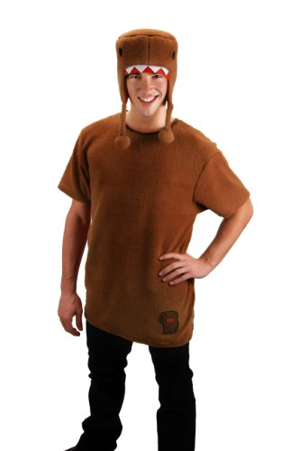 elope Domo Shirt With Hat Costume, Brown, Small/Medium