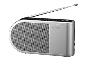 sony icf 404 ce7 radio portable gris tv amp. Black Bedroom Furniture Sets. Home Design Ideas