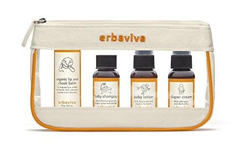 Erbaviva Baby Travel Kit Canvas, Clear - 1