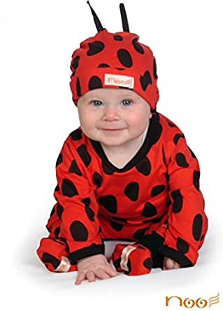 Ladybug Baby Costume Outfit - Animal Print Funky Baby Clothes