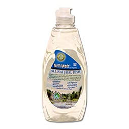 North Woods Ultra Green All Natural Dish - Dish Detergent (Pack of 6)