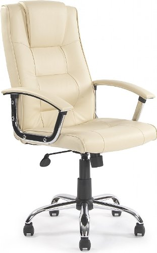 melbourne-high-back-cream-leather-faced-executive-office-chair