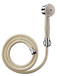 Cera CQ 141 Telephonic Hand Shower 60 mm (2.5) dia with Wall Hook and 1.5m Hose (suitable for Dew range)