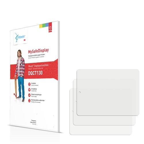 3x Vikuiti MySafeDisplay Displayschutzfolie DQCT130 von 3M passend für Prestigio MultiPad 8.0 Pro Duo PMP 5580C_Duo