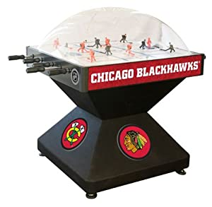 Chicago Blackhawks Dome Bubble Hockey by Holland Bar Stool