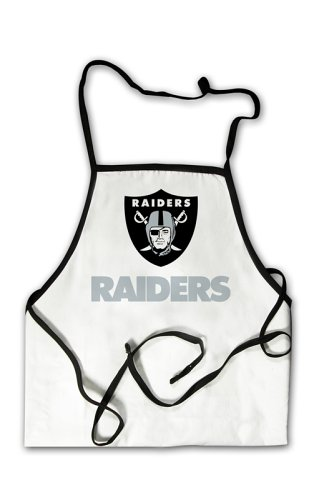 Oakland Raiders Grilling BBQ Apron