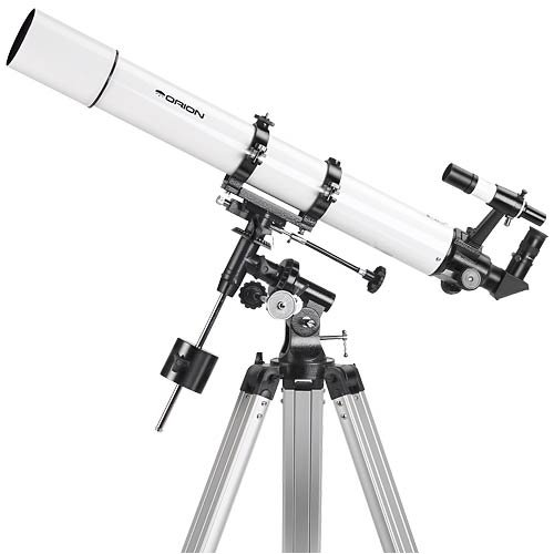 Review Orion AstroView 90mm Equatorial Refractor Telescope