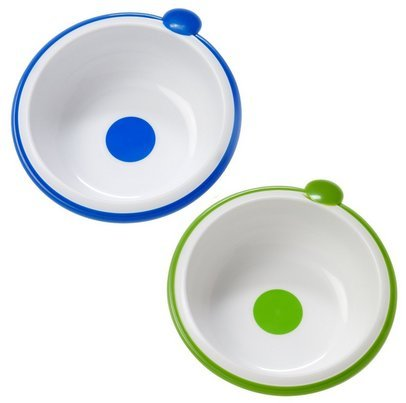Dr. Brown'S Feeding Bowls - 2 Pieces (Blue-Green) front-501224