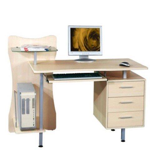 Scrivania portacomputer per ufficio cameretta 130x56x100