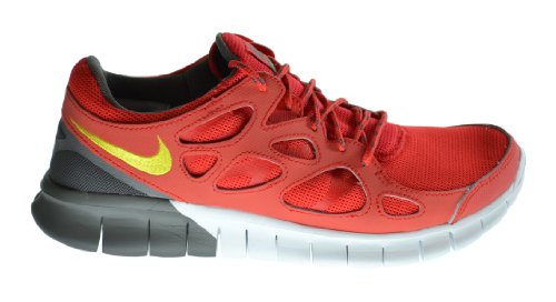 b4377f7f69e7 Nike Free Run 2 Men s Running Sneakers Light Crimson White Black 537732 661  10 D M