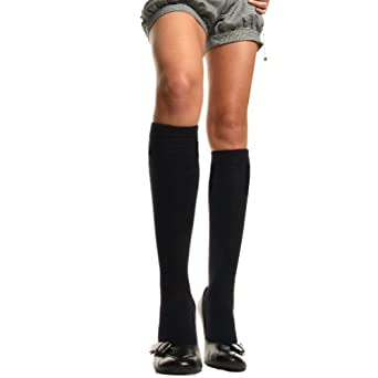 Angelina Microfiber Fleece CREW Socks with Brushed, Super Warm Interior and Non-skid Bottom. 2 Pairs per Pack. #2542Crew_Charcoal, Crew/Over-the-calf, One Size