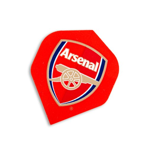F2045 Arsenal Football Club Dart Flights- 3 Sets pro pack (9 flights insgesamt).