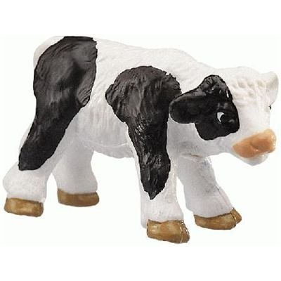 Bullyland Black & White Calf