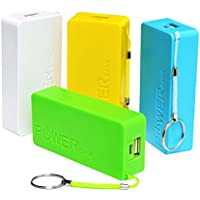 Generic MBB67 A5 Portable Power Bank 2600 Mah For Mobile Phones/ Tablets/Mp3/Mp4 Players ,Multicolor