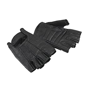 Bell Powersports Rally Half Finger Motorcycle Glove