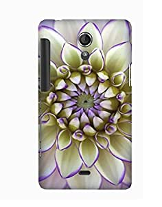 Pick Pattern Back Cover for Sony Xperia T
