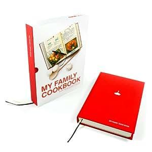 Suck UK Mon livre de recettes familiales - Carnet de recettes - Rouge
