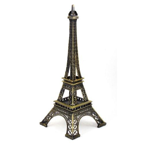 Miniature Paris Eiffel Tower Statue Model Ornament 12.6 Inch High