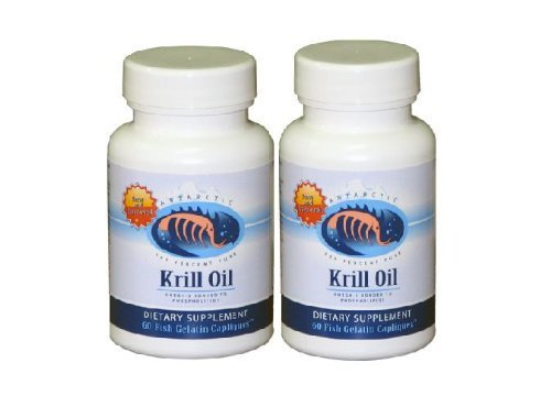 Dr. Mercola: Krill Oil, 60 Caps (2 Pack)