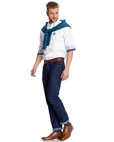 Polo Club Camicia Uomo [Bianco]