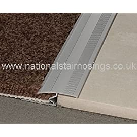 Variable Transition Strips For Carpet to Laminate & Tile