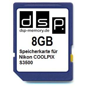 dsp-memory-tarjeta-de-memoria-para-nikon-coolpix-s3500-8-gb