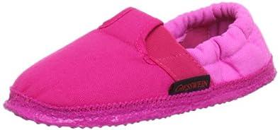 Giesswein Aichach 43/10/45633-366 Mädchen Hausschuhe, Pink (candy 366), EU 20