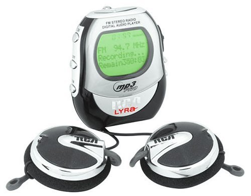 Lyra 256MB MP3 Player with FM Tuner (RD2012)