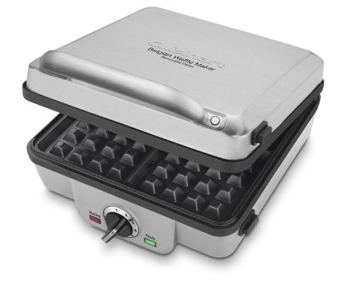 Best Deals! Cuisinart WAF-300 Belgian Waffle Maker with Pancake Plates