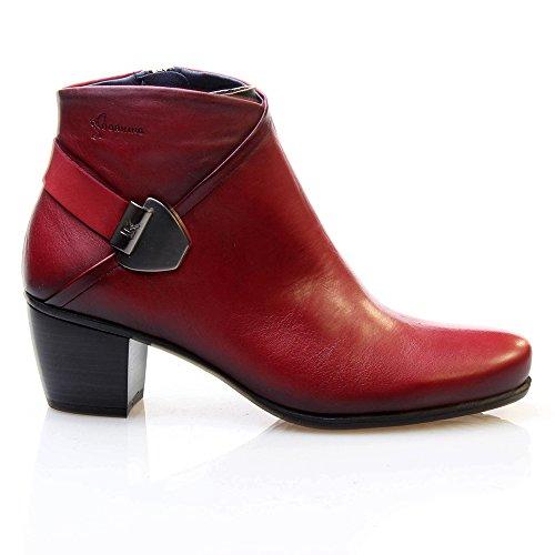 DORKING (DORK) Donna Stivaletti Desert rosso Size: 40