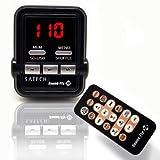 Satechi Soundfly SD WMA/MP3プレーヤー 車載FMトランスミッター SDカード/USBスティック/MP3プレーヤー(iPod, Zune)対応
