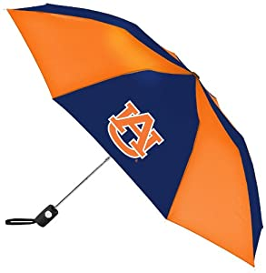 Click here to buy NCAA Auburn Tigers Automatic Folding Umbrella by WinCraft.