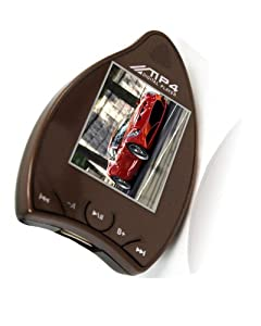 "1.8"" 2GB Mango Shaped Car MP4 Player Light Brown"