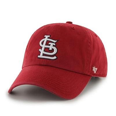 St. Louis Cardinals Clean Up Adjustable Cap (Cardinal Red)