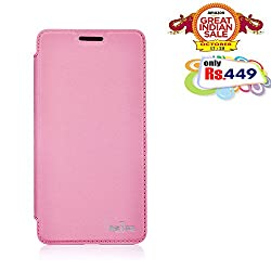 RSAFE Anti-Radiation Flip Book Case Cover For  Samsung S4 (pink)