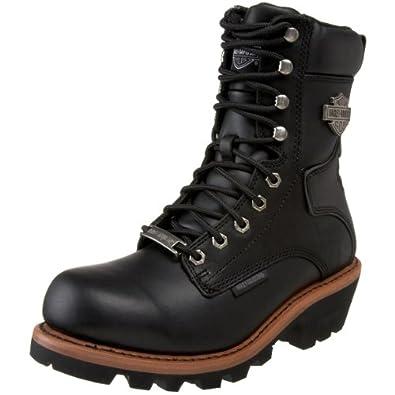 harley davidson s tyson logger boot