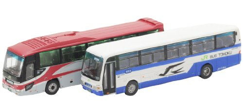 The Bus Collection Basukore JR Bus Tohoku 2 units Set B (super frame over Chikara / birch issue)