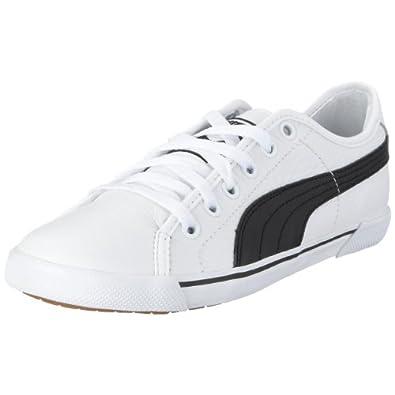Puma Benecio 351038, Unisex-Erwachsene Sneaker, Weiß (white-black 02), EU 40 (UK 6.5) (US 7.5)