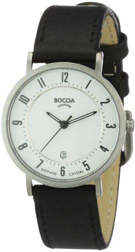 Boccia Ladies Titanium Leather Strap Watch B3154-06