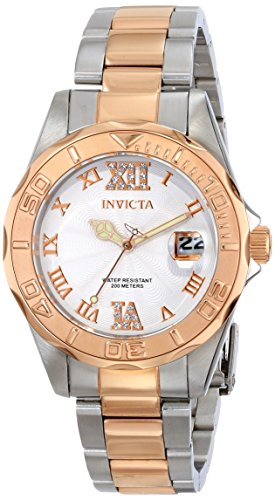 Invicta Women'S 14792 Pro Diver Analog Display Japanese Quartz Two Tone Watch